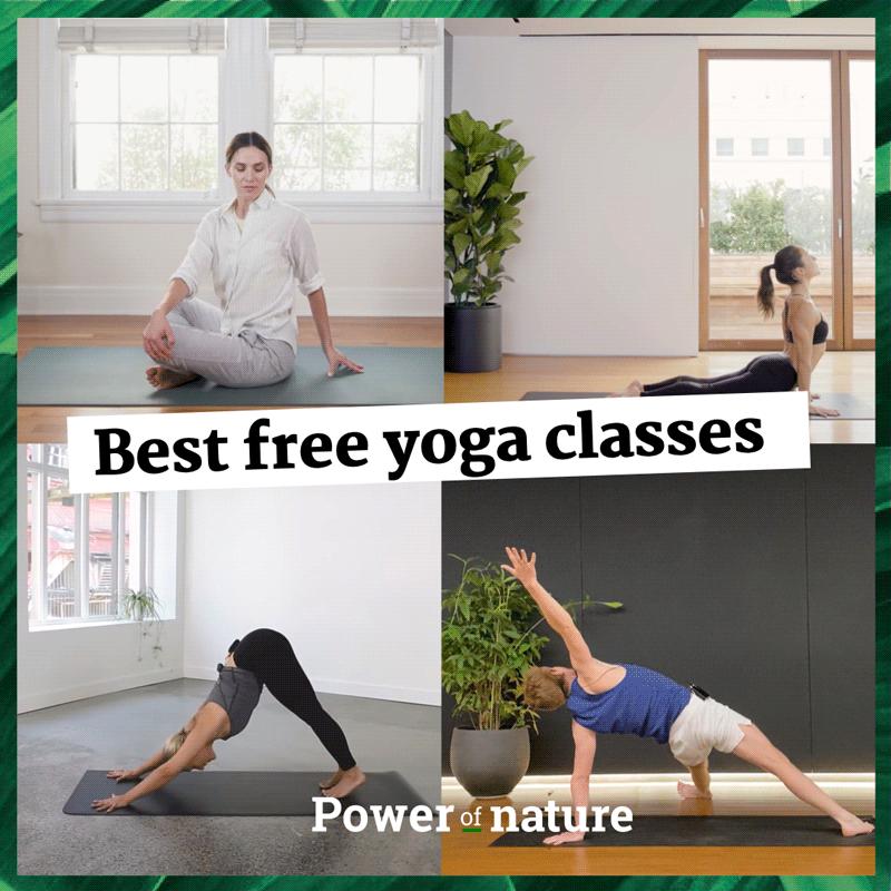 De-stress met deze 5 gratis online yogalessen