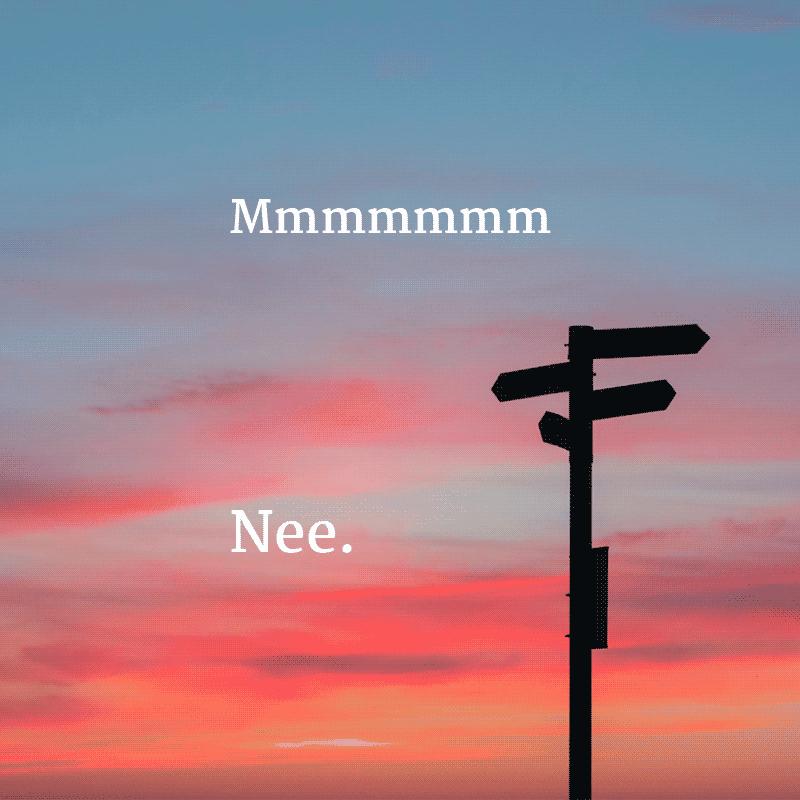 zeg-vaker-nee